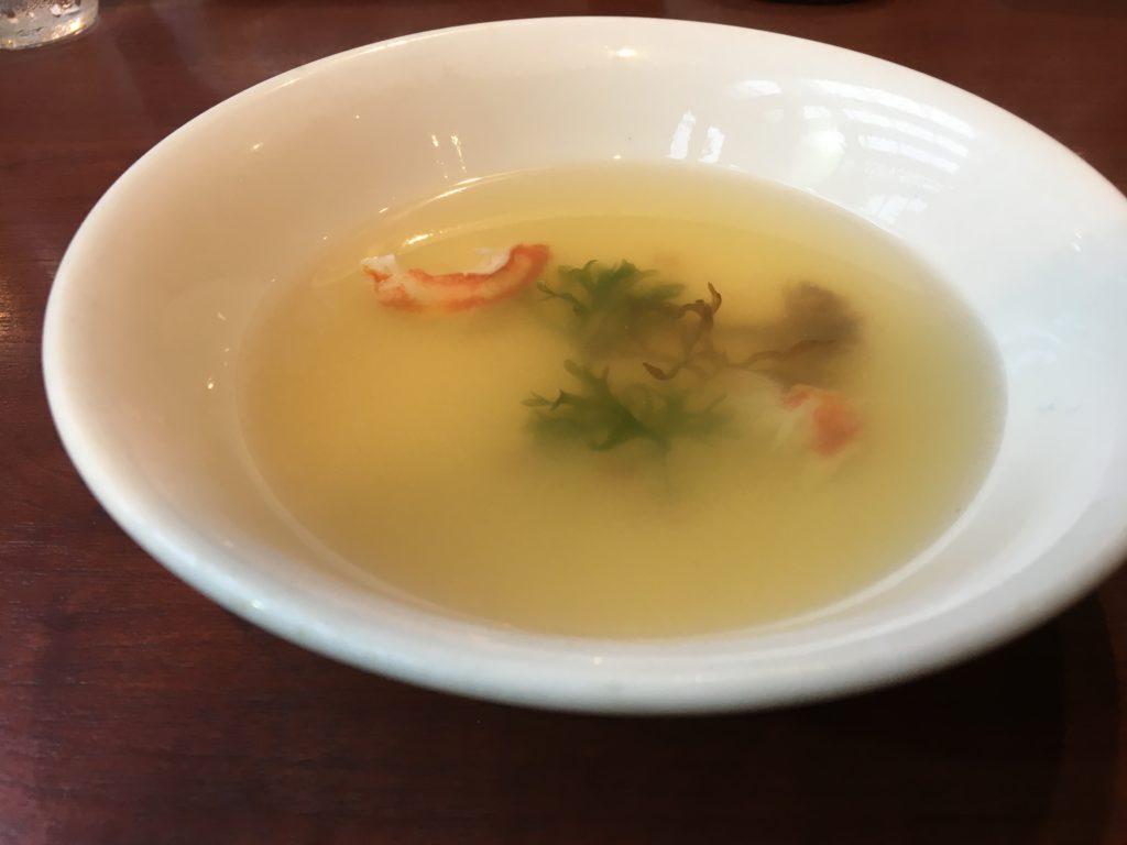 メヒコつくばフラミンゴ館のメヒコスープ