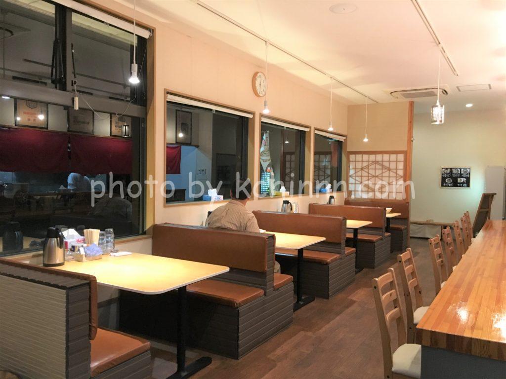 田中製麺店内
