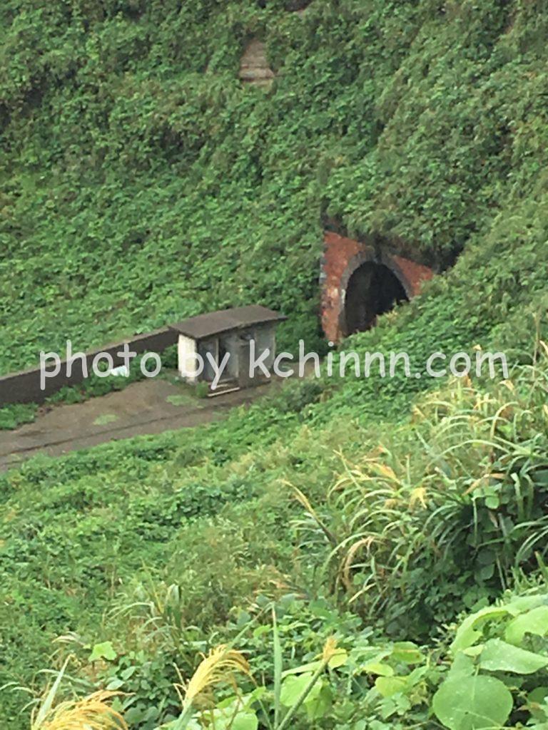 柏崎市廃トンネル