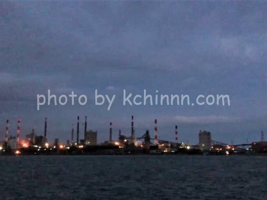 鹿島港でカレイ狙い
